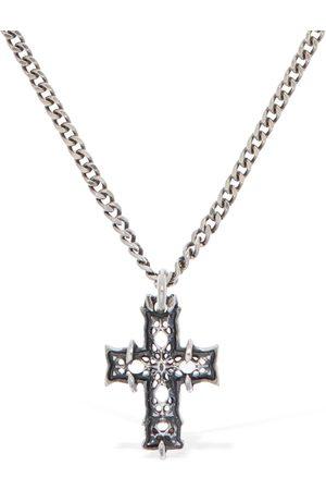 EMANUELE BICOCCHI Damen Halsketten - Halskette Mit Notre Dame-kreuz