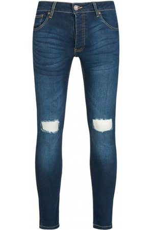 brave-soul BRAVE SOUL Acton Stretch Skinny Herren Denim Cut Out Jeans MJN-ACTON
