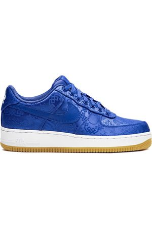 Nike X Clot 'Air Force 1 Blue Silk' Sneakers