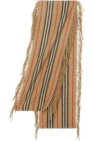 Burberry Mädchen Schals - Gestreifter Schal mit Fransen