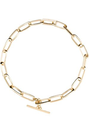 Lizzie Mandler Damen Armbänder - 18kt Gelbgoldarmband mit Kettendetail