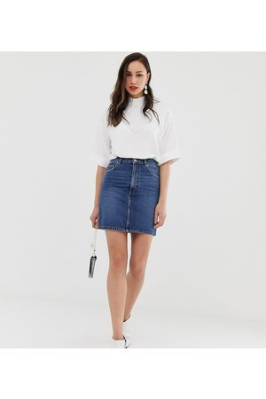 ASOS ASOS DESIGN Tall – Original – Minirock aus Denim