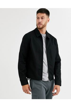 ASOS – Schwarze Harringtonjacke