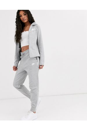 Nike Damen Jogginghosen - – Tech – Graue Fleece-Jogginghose