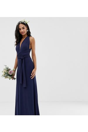 TFNC – Bridesmaid – Exklusives Multiway-Maxikleid in Marinenblau