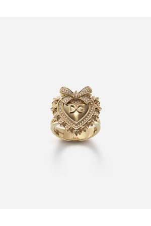 Dolce & Gabbana Devotion ring aus mit diamanten