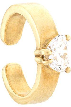 Anita 18kt Ear Cuff aus Gelbgold mit einem Diamanten