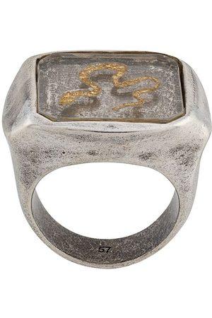 Goossens Herren Ringe - Siegelring mit Schlange