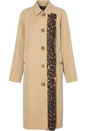 Burberry Damen Trenchcoats - Mantel mit Leoparden-Print