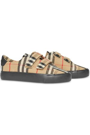 Burberry Kids Sneakers mit Vintage-Check