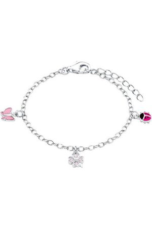 Prinzessin Lillifee Armkette Schmetterling, Marienkäfer & Kleeblatt 925, 9082414