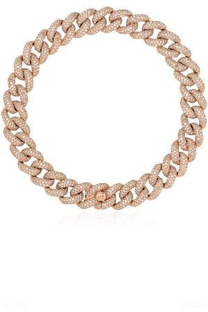Shay 18kt Rotgoldarmband mit Diamanten-Pavé