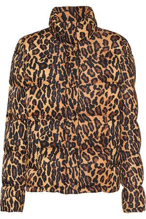 Miu Miu Steppjacke mit Leoparden-Print