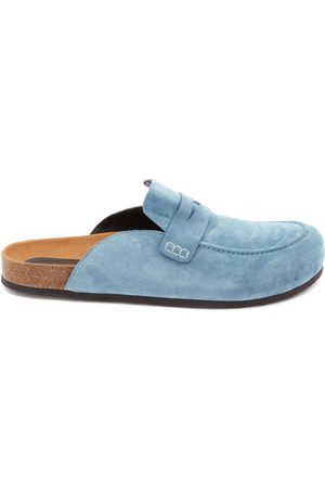 J.W.Anderson Suede loafer mules
