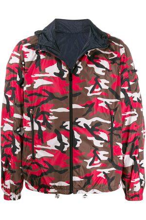Prada Herren Sweatjacken - Wendbare Jacke mit Camouflage-Print