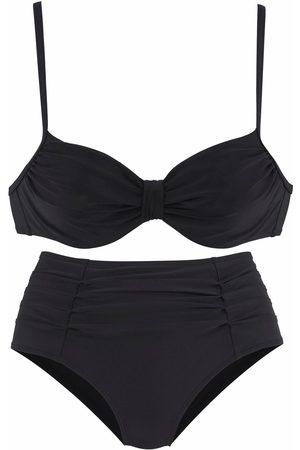 Lascana Große Größen: Bügel-Bikini mit dekorativer Raffung, , Gr.44C