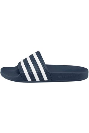 adidas Damen Sandalen - Große Größen: Badesandale »Adilette«, -weiß, Gr.42
