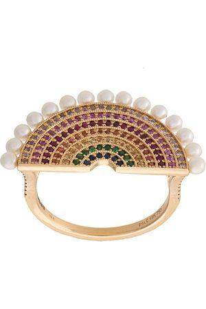 ROSA DE LA CRUZ Ring mit Perlen