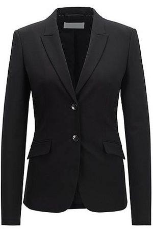 HUGO BOSS Damen Blazer & Sakkos - Schurwoll-Blazer mit steigendem Revers