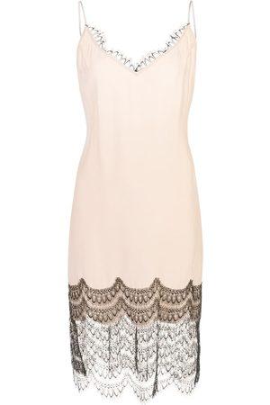 Kiki de Montparnasse Camisole-Kleid mit Spitzenborte