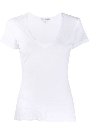 James Perse Damen T-Shirts, Polos & Longsleeves - Twist' T-Shirt