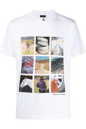 MARCELO BURLON COUNTY OF MILAN T-Shirt mit Foto-Print