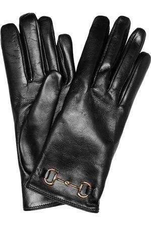 Gucci Handschuhe Horsebit aus Leder