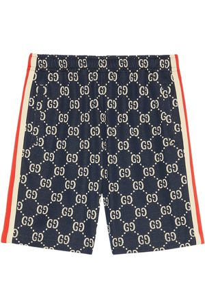 Gucci Jacquard-Shorts mit GG