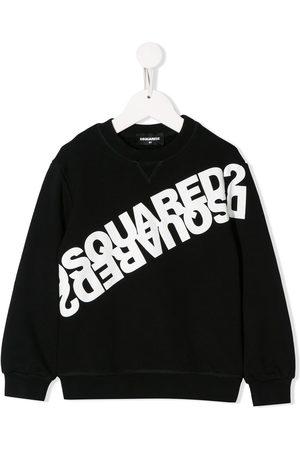 Dsquared2 Sweatshirt mit gespiegeltem Logo