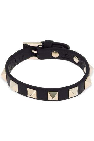 VALENTINO GARAVANI Rockstud Leather Belt Bracelet