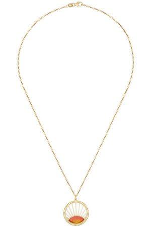 Andrea Fohrman Damen Halsketten - 18kt Gelbgoldhalskette mit Anhänger