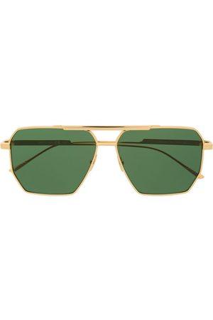 Bottega Veneta Eckige Pilotenbrille