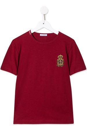 Dolce & Gabbana T-Shirt mit Wappen-Patch