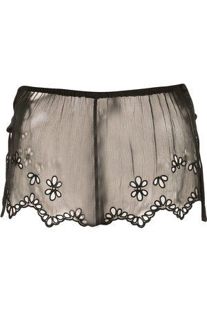 Kiki de Montparnasse Shorts aus Spitze