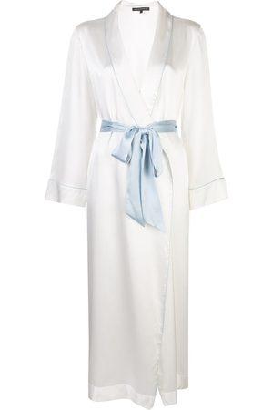 Kiki de Montparnasse Damen Wäsche-Accessoires - Mantel mit Taillengürtel