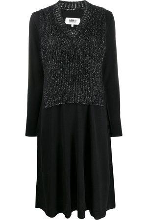 MM6 MAISON MARGIELA Gestricktes Kleid