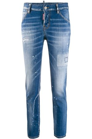 Dsquared2 Mädchen Straight - Cool Girl' Jeans