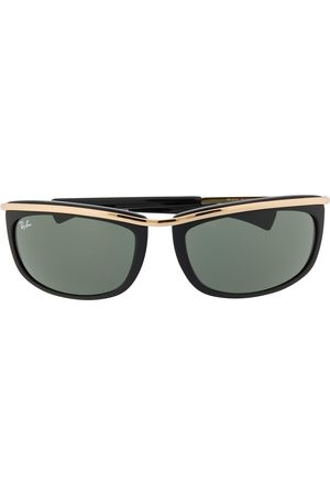 Ray-Ban Ovale 'Olympian' Sonnenbrille