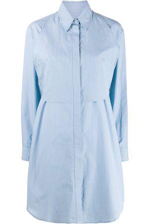 MM6 MAISON MARGIELA Damen Freizeitkleider - Hemdkleid mit Nadelstreifen