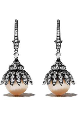 Annoushka 18kt Weißgoldohrringe mit Perlen
