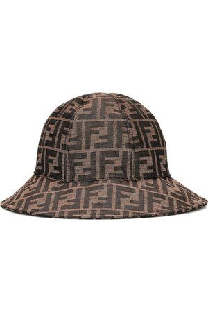 Fendi Bedruckter Hut aus Twill