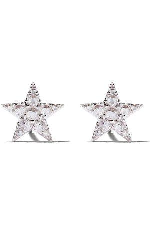 ANNOUSHKA 18kt Weißgoldohrstecker mit Diamanten