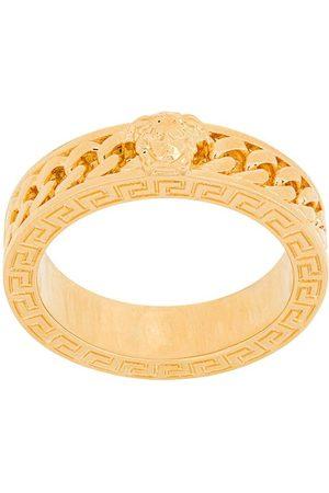 VERSACE Ring im Kettendesign mit Medusa