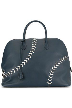 Hermès Reisetasche im Baseball-Look