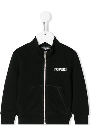 "Dsquared2 Sweatshirtjacke mit ""Icon""-Print"