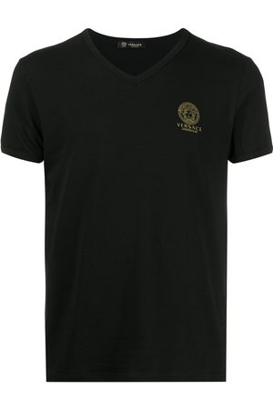 VERSACE T-Shirt mit Logo-Print