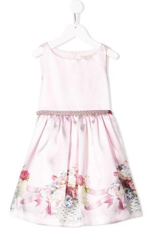 MONNALISA Kleid mit Blumen-Print