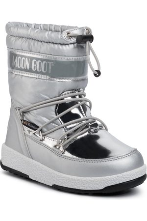Moon Boot W.E. Jr Girl Soft Wp 34051700003 Silver