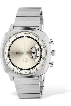 Gucci Lg40 Grip Stainless Steel Watch