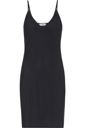 Jil Sander Slipdress aus Stretch-Gewebe
